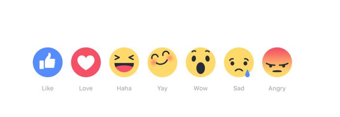 Llega Facebook Reactions: 6 nuevas formas de interaccionar con las publicaciones